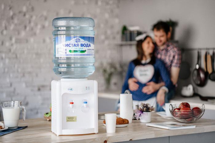 Реклама доставки воды