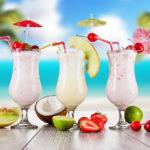 Реклама молочного коктейля