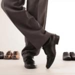 Реклама мужской обуви