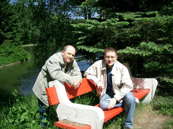 Леонид Дмитриевич Криворуцкий и Максим Ушаков